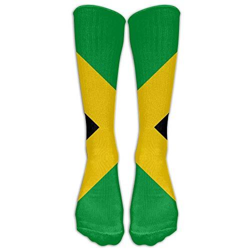 Dot Skimmer (Funny Caps Jamaica Flag Jamaican Comfort Cool Vent Crew Socks 19.68 in/50 cm)