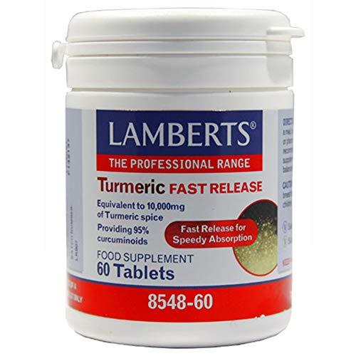 Release 60 Tabletten (Lamberts Turmeric Fast Release 60 Tabletten)