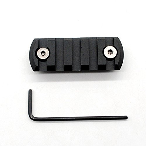 Trirock Picatinny Rail Section for keymod with 9 Slots