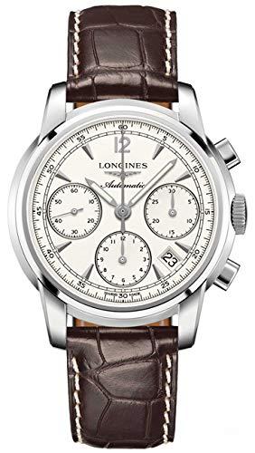 Longines Saint Imier Collection automatique chronographe Colonne de roue arrière Coque transparente montre homme
