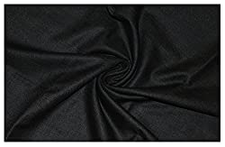 V Walkers Cotton Poly Blend Self Design Un-Stitched Trouser Fabric for Men (1.30 MTR_Grey_VST158)