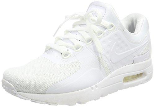 Nike Männer Air Max Ltd (Nike Herren Air Max Zero Essential Sneaker, Weiß (White/White-Wolf Grey-Pure Platinum), 44 EU)