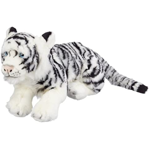 Blickfänger 14106 - Peluche Jaquard Siberian Tiger Lying, 46 cm