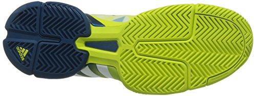 adidas Barricade 2016, Chaussures de Tennis Homme Vert - Verde (Limsho / Ftwbla / Acetec)