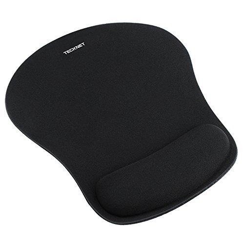 Mauspad, TeckNet Ergonomisches Komfort Mousepad Office Mat Gel mit Handgelenkauflage für Computer und Laptop