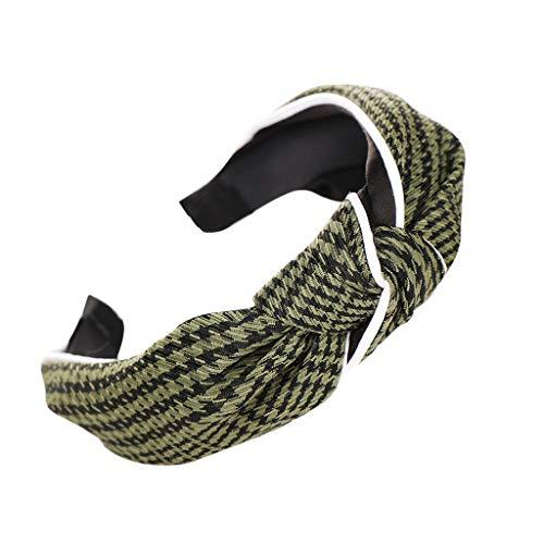 Yvelands Damen Mode Stirnbänder Breit Haarbänder Bogen Knoten Haarband Frauen Haar Kopfband Einfache Süße Mädchen Haar Stirnband Haarschmuck (Kurze Uggs)
