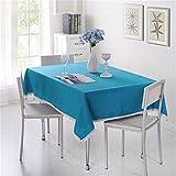 LUOTINGRUI Einfarbig dekorative tischdecke Nachahmung leinen Spitze tischdecke esstisch Abdeckung Dekoration