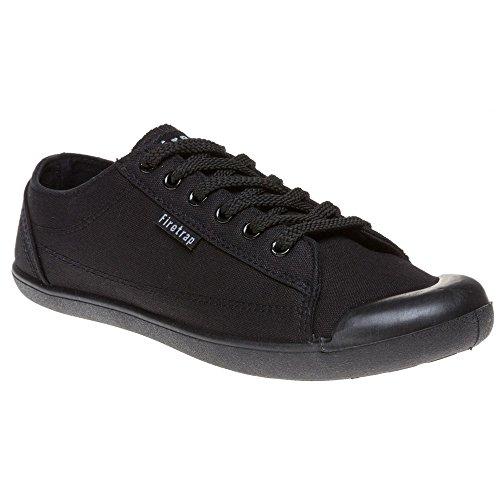 Firetrap Cutie Damen Sneaker Schwarz Black