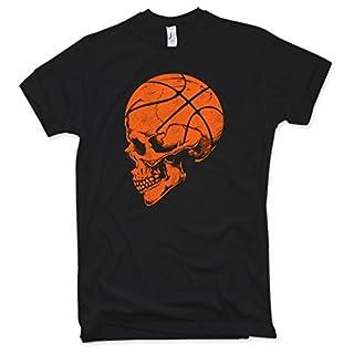 Basketball Skull T-Shirt Funshirt Trikot, Gr. S – 5XL