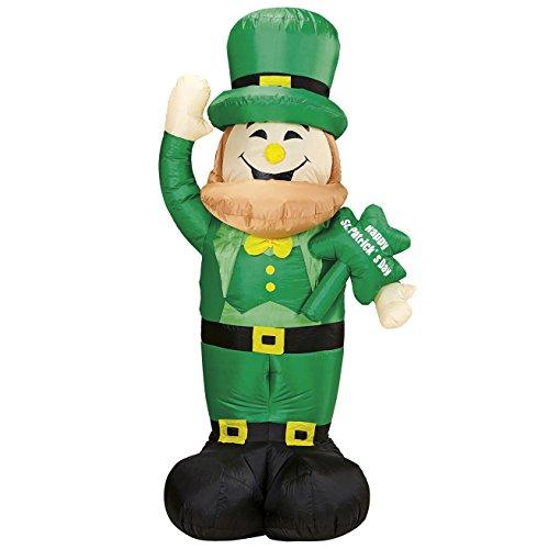 Widmann 75039 Aufblasbarer, leuchtender Kobold, Kostüm, One Size (Irland Motto Kostüme)