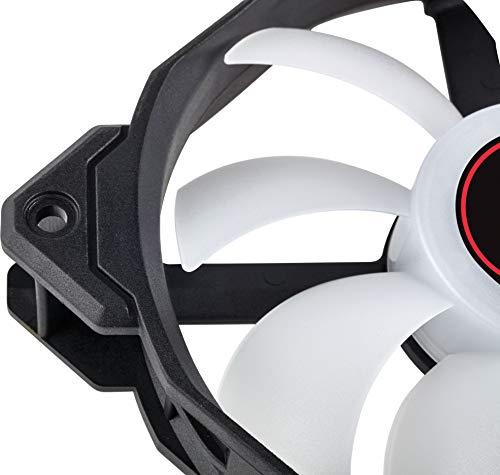 Corsair AF120 LED (2018) Red 52 CFM 120 mm Fans 3-Pack