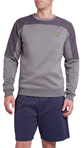 lyle-scott-mens-brownlee-crew-neck-with-nylon-overlay-z39-slate-large