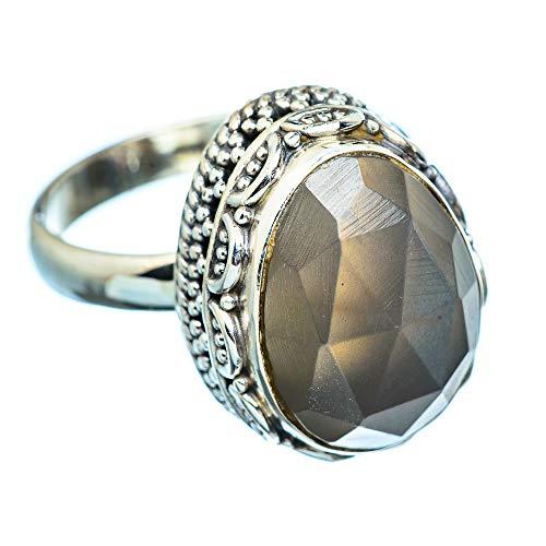 Labradorite, Labradorit 925 Sterling Silber Ring 9