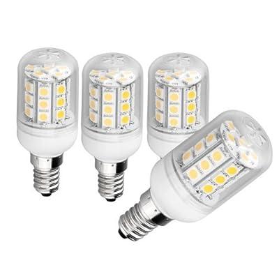 SODIAL(R) 4x E14 30 5050 SMD LED Spotlight Einbaustrahler Leuchte Warmweiss 4.5W 200-240V von SODIAL(R) auf Lampenhans.de