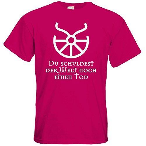 getshirts - Das Schwarze Auge - T-Shirt - Sprüche - Götter - Boron - Du schuldest der Welt noch einen Tod Sorbet