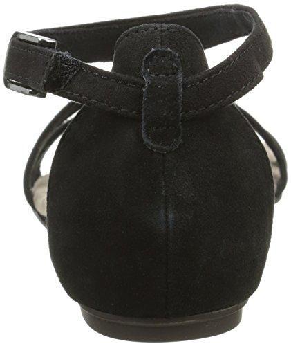 black Schwarz 001 Damen Sandalen T 28103 spangen Tamaris O8xXYqx