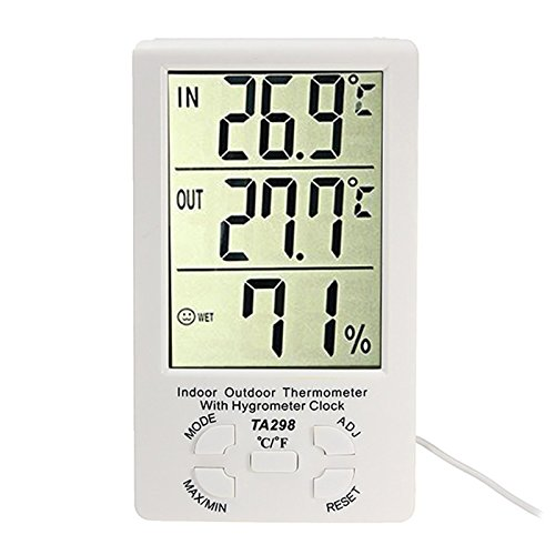 station-meterologocia-thermometre-hygrometre-sonde-temperature-pour-interieur-exterieur-avec-horloge