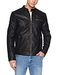 Jack & Jones Mens Jacket (12106190_Black_Small)