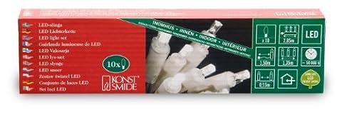 Konstsmide 5300-103 LED Lichterkette / für Innen (IP20) / 230V