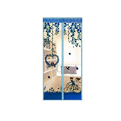 A&j cortina di zanzariere tende magnetiche di filato morbide indossare schermi magnetici camera d'estate schermi di crittografia salmonella 2018 versione coreana 100*210 cm