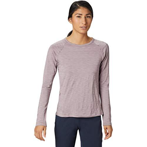 Mountain Hardwear Damen T-Shirt Mighty Stripe Long Sleeve, Damen, Daze, X-Small -