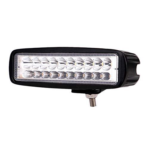 SODIAL Fari da Lavoro Combinati da Incasso Un LED da 18W 3000LM Un LED per Camion Fuoristrada SUV