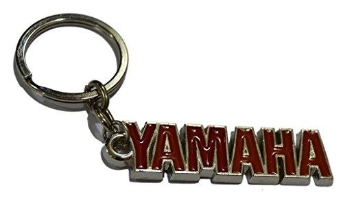 GCT Yamaha Logo Metal Keychain | Keyring | Key Chain for Bike Keys | for Men Women Boys Girls | for Saluto Fascino Alpha Cygnus Ray Z FZ FZS FZ25 Fazer FI YZF R1 R15 MT-09 SZ-RR V Max (Red/Silver)  available at amazon for Rs.189