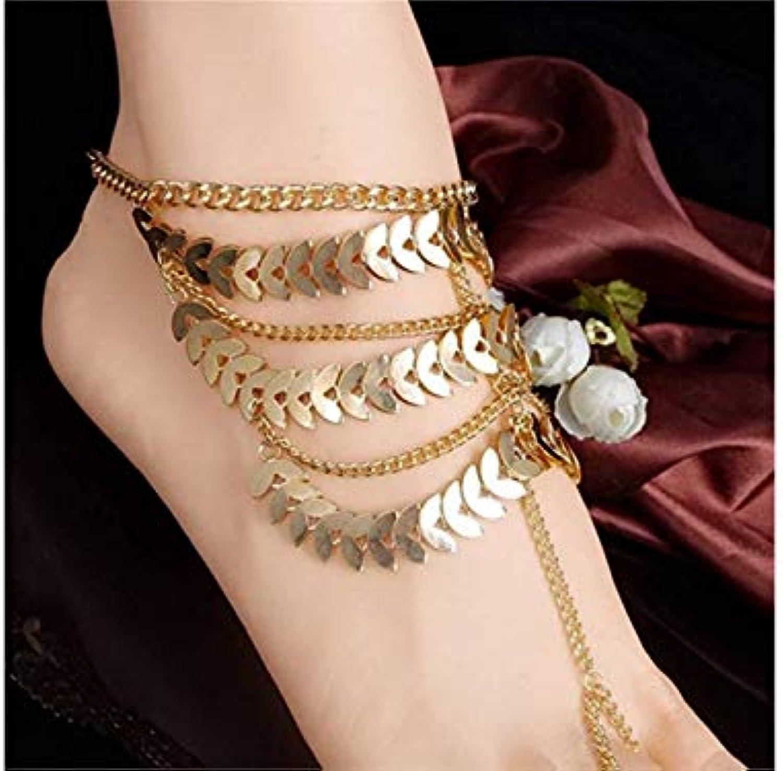 kxrzu pieds nus sandales bracelet pompons pompons pompons multicouches chaîne pour les femmes fille b07hj5xyv8 parent | Moins Coûteux  74f31a