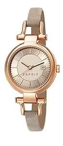 Esprit Damen-Armbanduhr XS Analog Quarz Leder