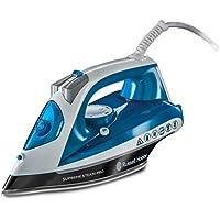 Russell Hobbs 23971-56 Plancha de Vapor, Suela de Cerámica, 2600 W, Azul/Blanco