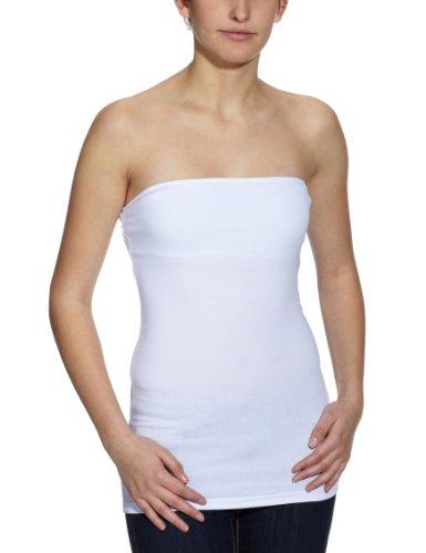 ONLY Damen Top,15051564, Gr. 42 (XL), Weiß (WHITE) -