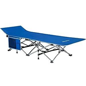 KingCamp Feldbett Campingbett Klappbett bis 120 kg/200 kg belastbar