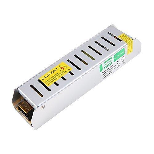 Preisvergleich Produktbild Liqoo® 100W DC 12V 8,4A LED Trafo Treiber Transformator Netzgerät Netzteil für Leuchmittel Streifen