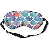 Schlafmaske, Regenbogenfisch, glitzernd, Schuppen, Schlafmaske preisvergleich bei billige-tabletten.eu