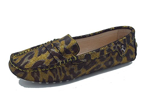 Minitoo , Bout fermé femme Gold Snake-print