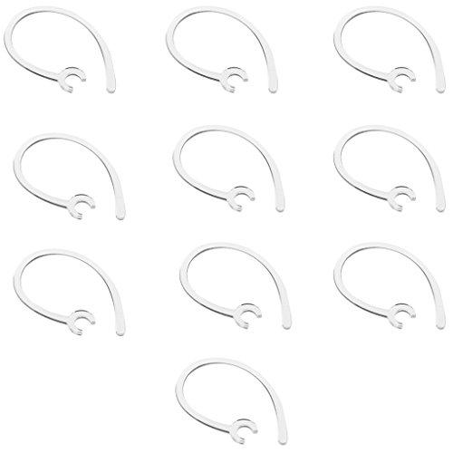 Gazechimp 10 Ganchos Orejas Recambios Auriculares