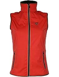 Golf chaqueta sin manga ROJO (XS)