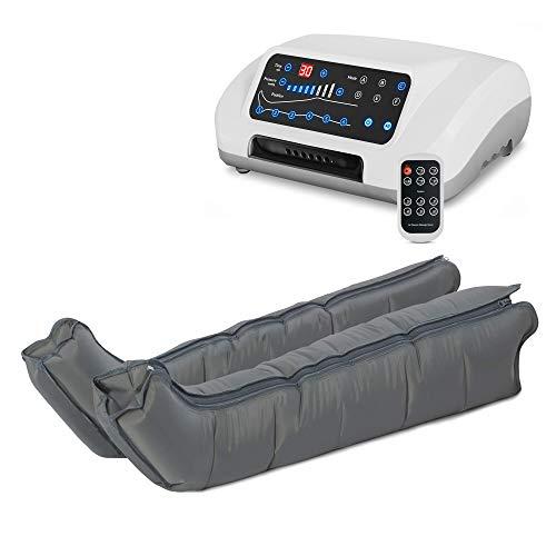 VENEN ENGEL® 6 PREMIUM Massage-Gerät :: 6 Luftpolster je Bein & 6 voreingestellte Programme für intensive Druckwellen-Massage :: inkl. Fernbedienung :: Top-Kundenservice & Qualität