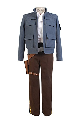 Star Wars Empire Strikes Back Han Solo Jacke Hose Kostüm (Kostüm Solo Empire Han)
