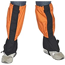 TourKing Senderismo Polainas 1 Par Impermeable al Aire Libre Que Sube Escalada Snow Boot Legging Gaiter