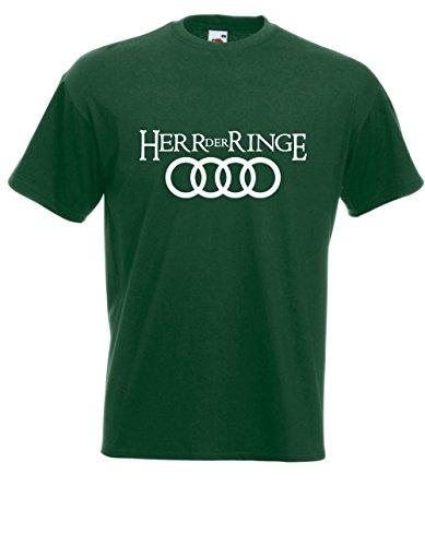 Textilmonster T-Hemd - Herr der Ringe (L, Grün)