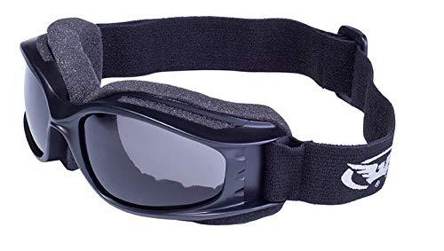 Global Vision Eyewear Nitro Schutzbrille mit Tasche, Rauch Objektiv -
