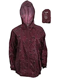 Pro Climate ProClimate Womens Ladies Tartan Deer Waterproof Packable  Cagoule Jacket Packaway Bag 03e5f1287008c