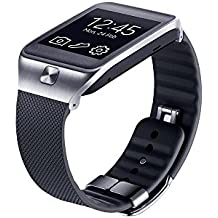 Samsung ET-SR380BBEGWW - Correa estándar para Samsung Galaxy Gear 2/Gear 2 Neo, negro