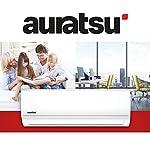 AURATSU AWX-09KTA Split Klimaanlage 2,6 kW 9000 BTU, für bis zu 40 qm, WiFi Ready Invert Klimagerät Split, A++ Kühlen, A…