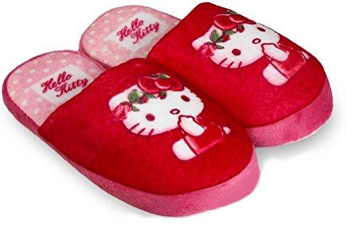 Pantofole e pantofole Hello kitty, Pink - Pink, 29-30