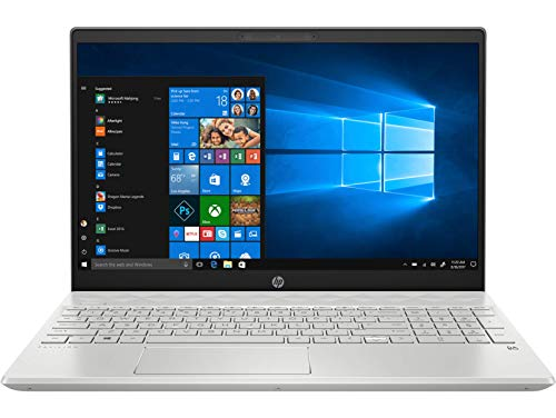 HP Pavilion 15-cs3006tx 15.6-inch Laptop (10th Gen i5-1035G1/8GB/1TB HDD + 256GB SSD/Windows 10, Home/2 GB Graphics), Mineral Silver