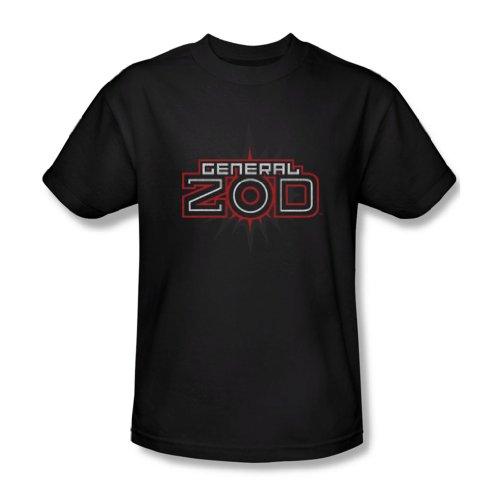 Superman - Herren Zod Logo T-Shirt in schwarz Black