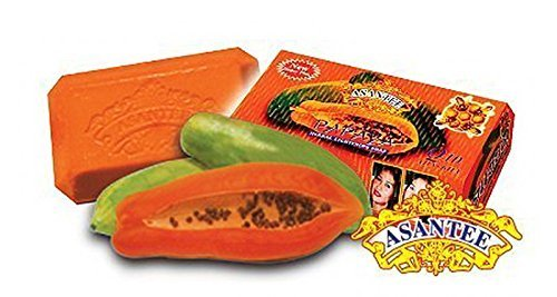 Asantee Thai Papaya Herbal Skin Whitening Soap 125g