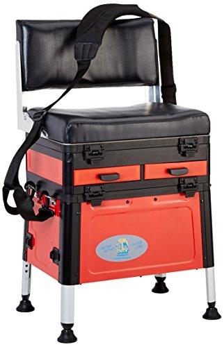 Behr Angeln Accessoires, Alu Sitzkiepe mit Rückenlehne, 60853
